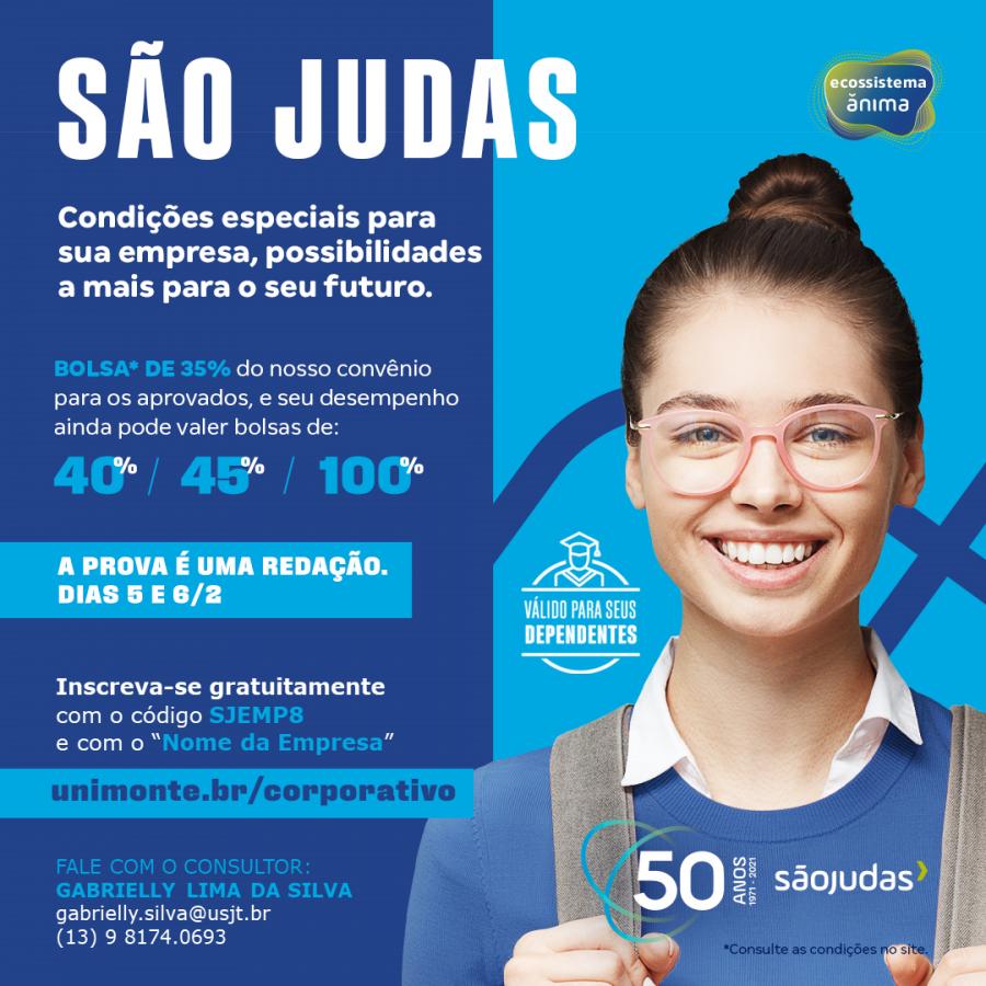 SÃO JUDAS - CAMPUS UNIMONTE