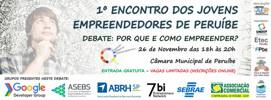I Encontro Jovens Empreendedores de  Peruíbe