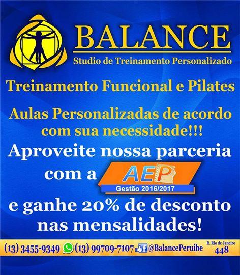 Studio Balance - treinamento personalizado