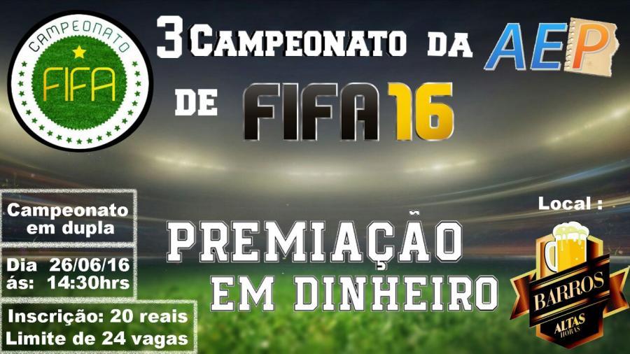 3� Campeonato da AEP DE FIFA 16